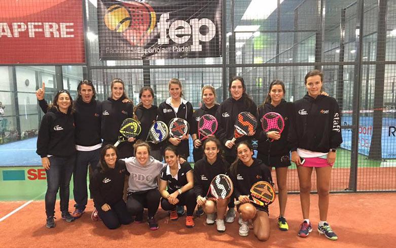 4set patrocina al equipo femenino de Pádel Bizkaia