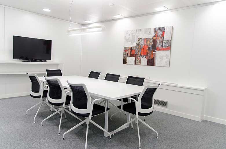4 set, oficinas en Madrid